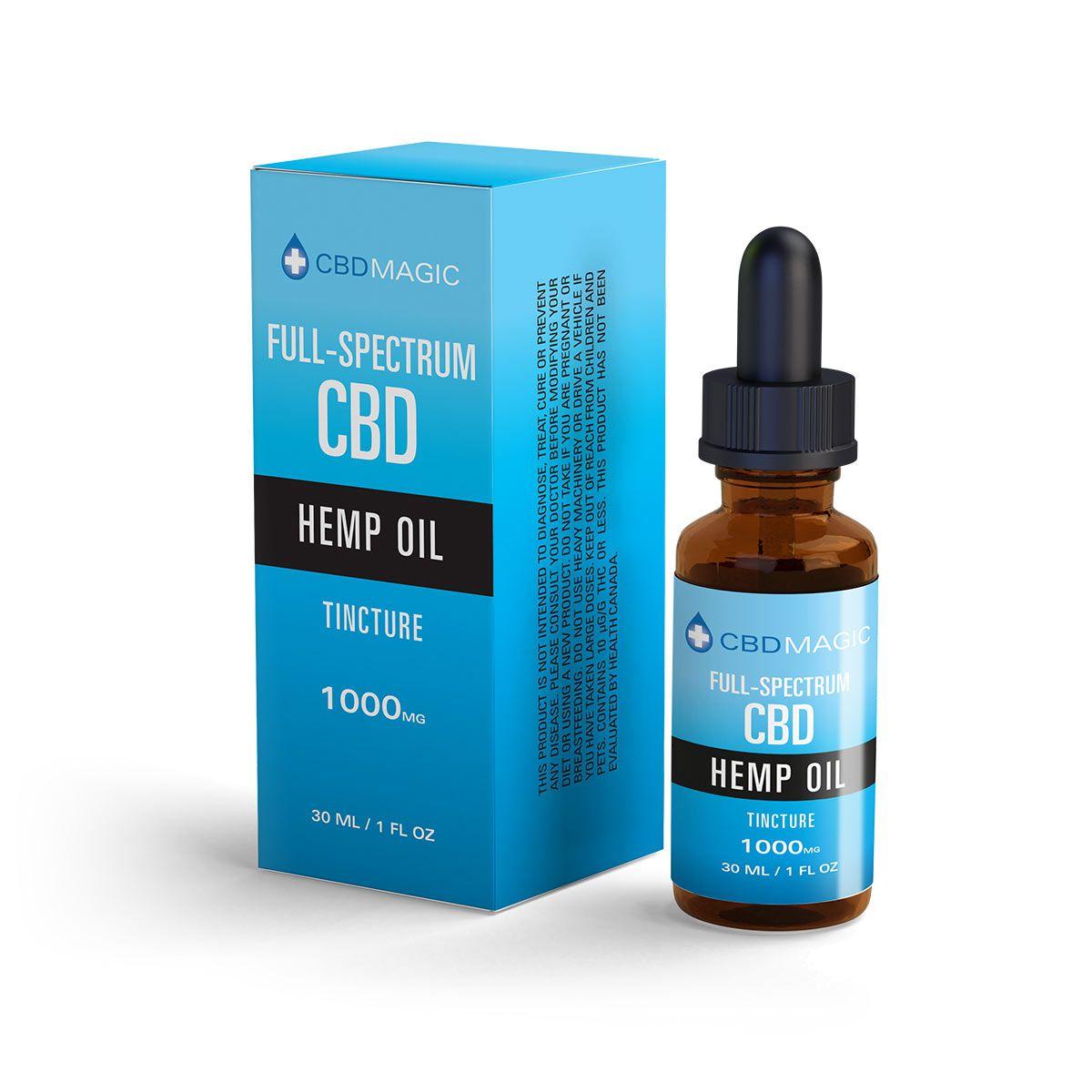 Magic 1000 mg full spectrum CBD oil- 30 ml