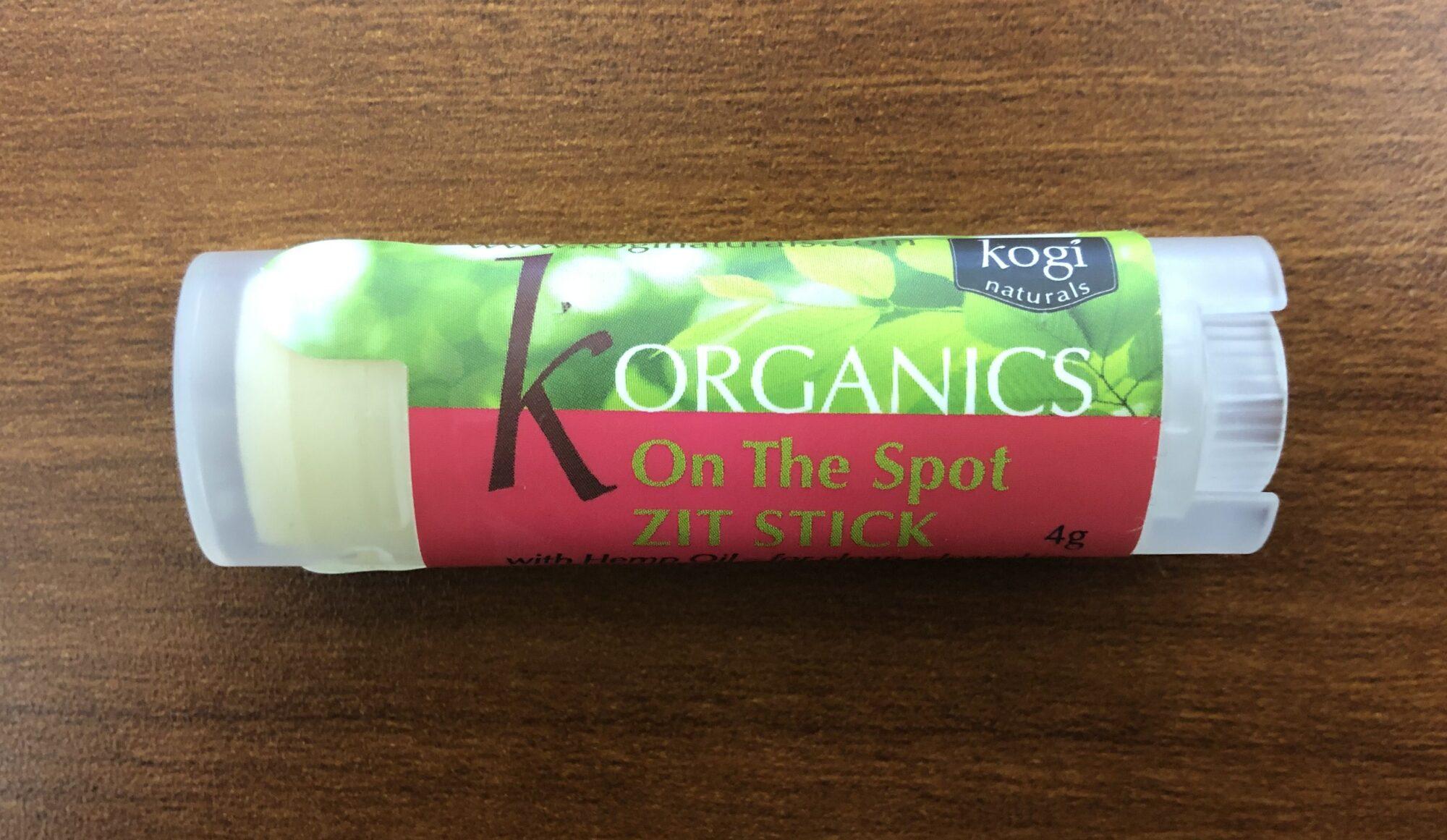 KOJI Organics On The Spot Zit Stick 4g